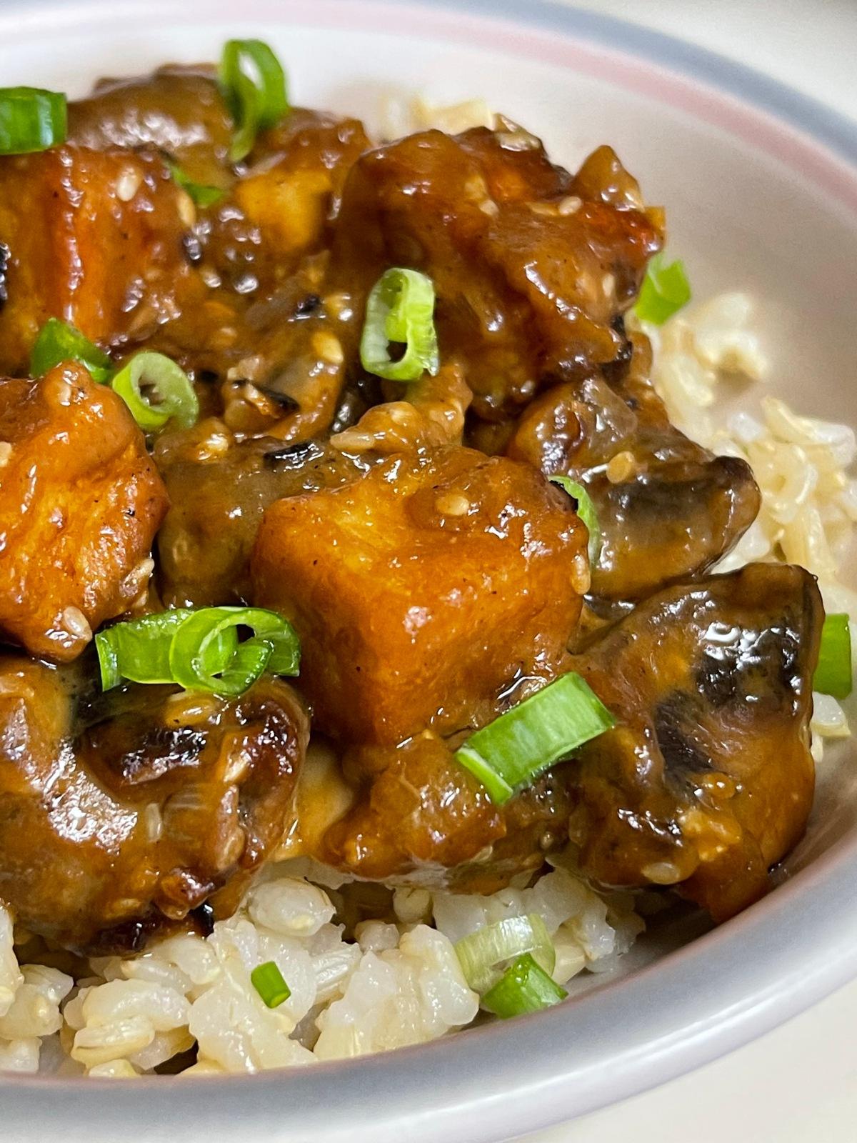 Stir-Fried Tofu with PeanutSauce